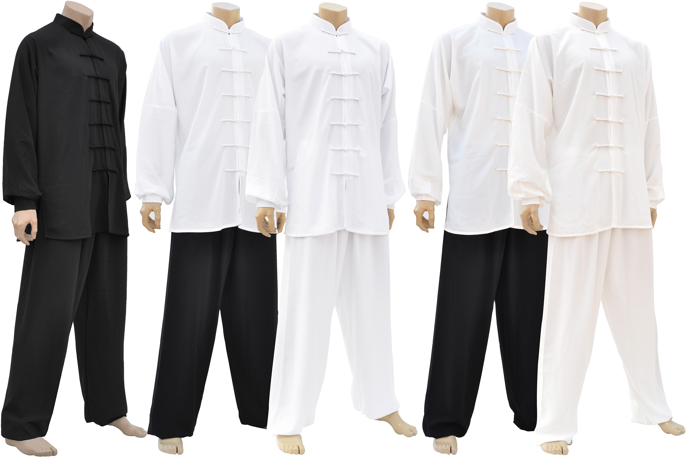 Tai Ji, Tai Chi Uniform , Classical Black