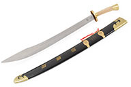Traditional Broadsword, Thick Rigid Blade