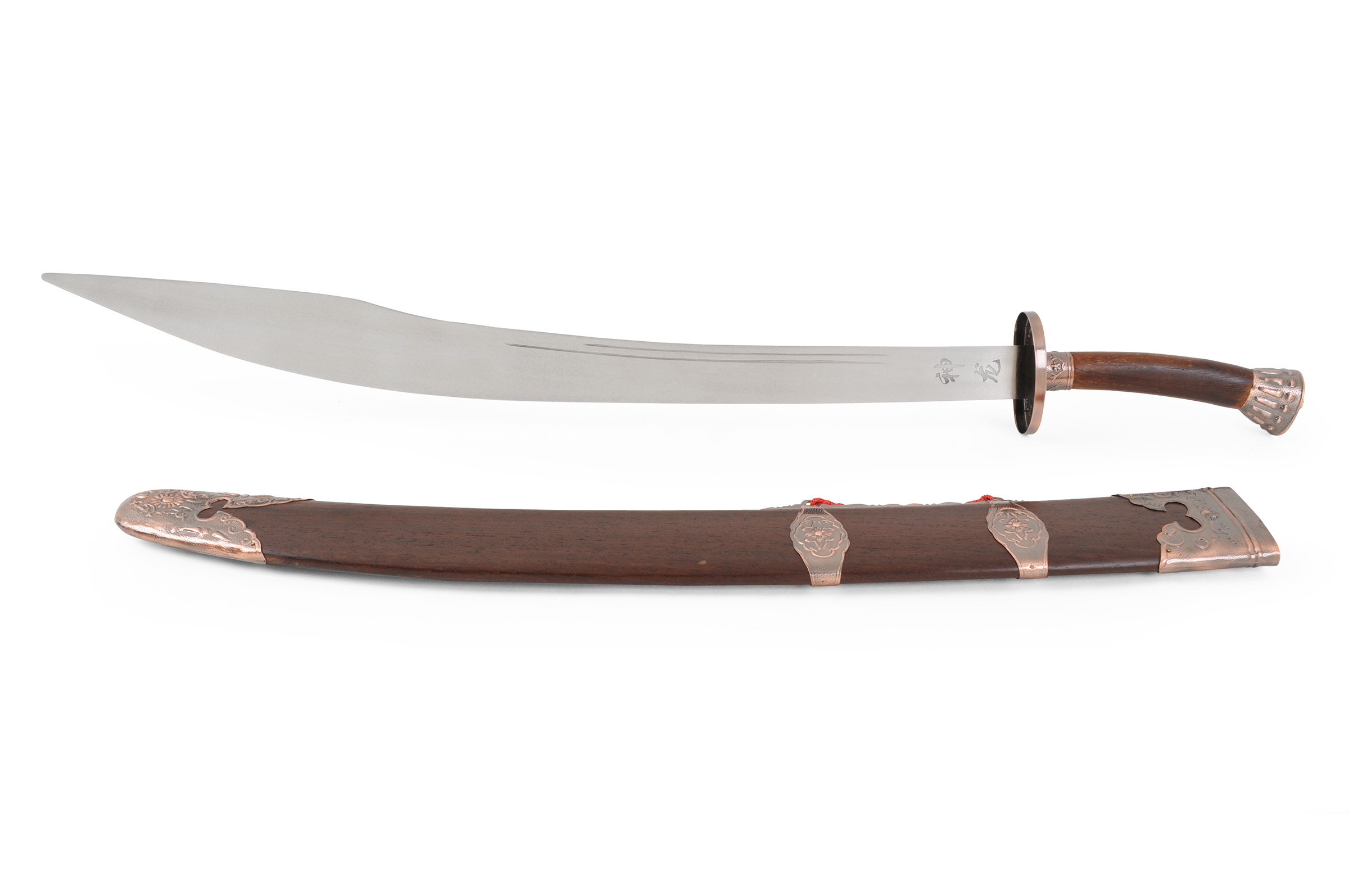 Sabre Traditionnel Inox, Lame Semi Flexible, Bronze