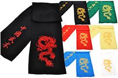 Ceinture Kungfu Dragon Brodée, Classique