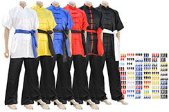 Tenue Chang Quan, Satin