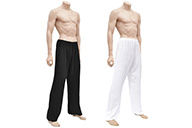 Pantalon Kung-fu, Tai Chi, Viscose+Coton