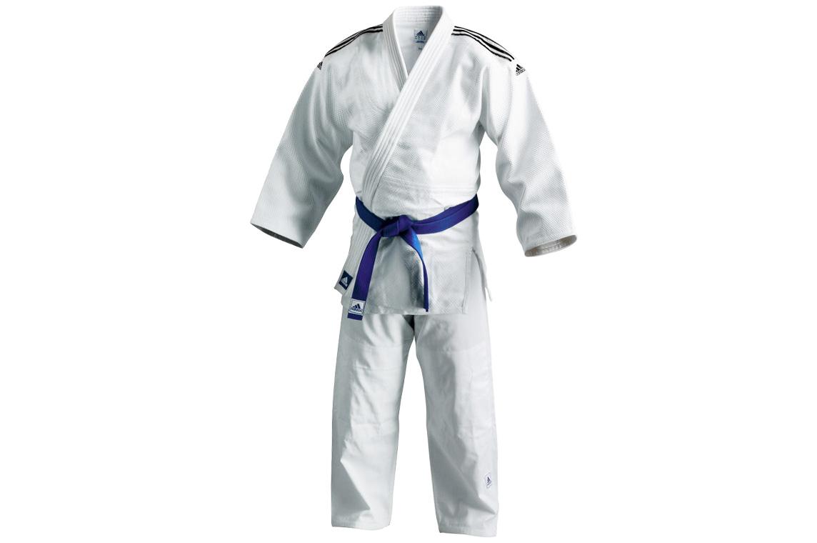 Kimono de Judo, Adulte, BLANC, Adidas J650