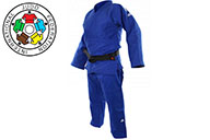 Kimono de judo, Champion II, BLEU, JIJF, Adidas
