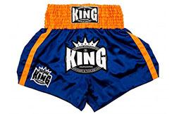 Short de Muay Thaï, King, Grand Logo, KTBS