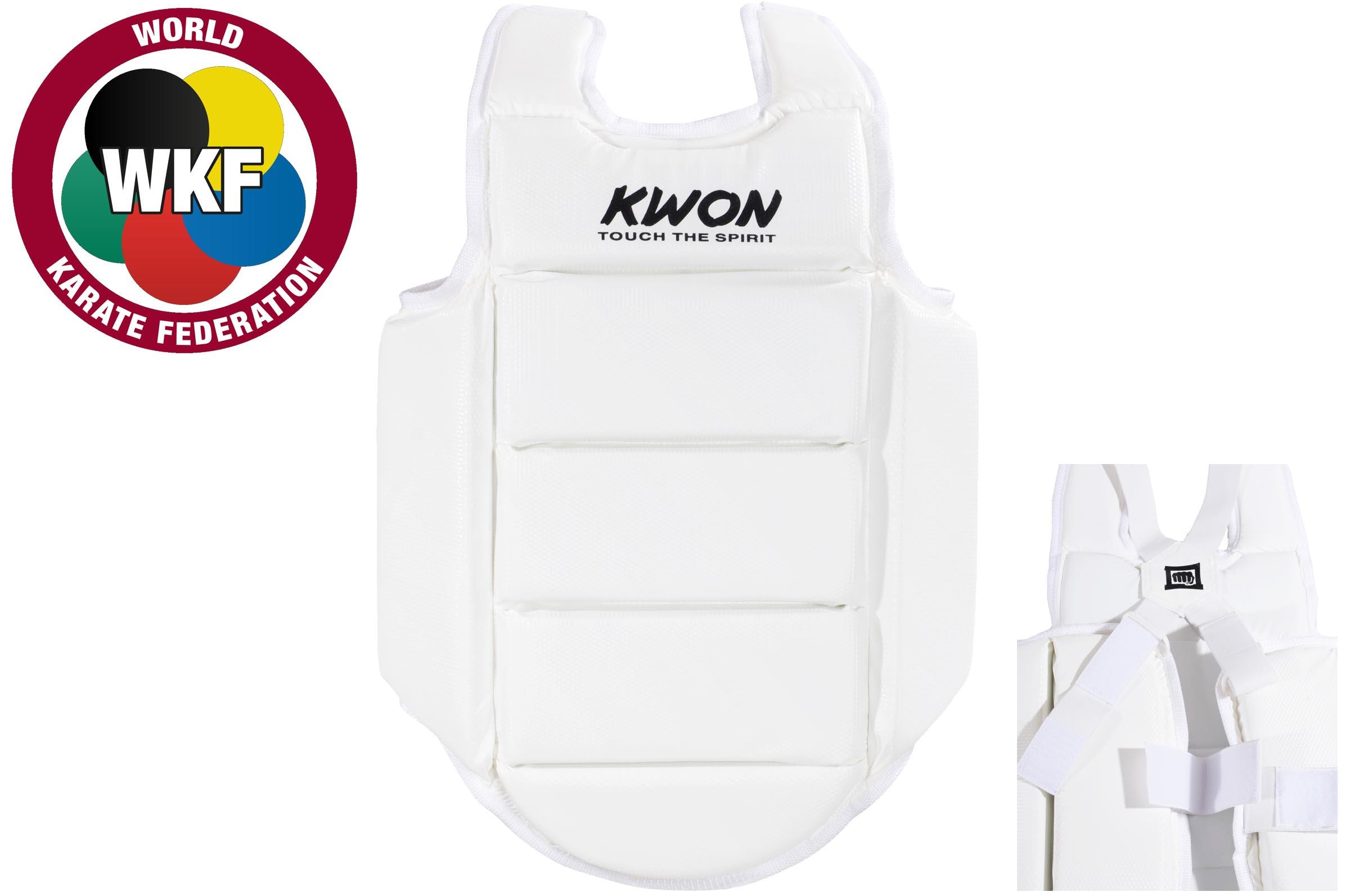 Veste d'entraînement de Karaté CE, KWON
