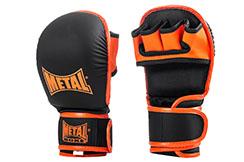 Gants Combat Libre Entraînement, Metal Boxe MB577