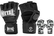 Gants MMA, Combat Libre, Avec Pouce, Metal Boxe MB594