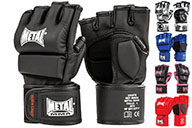 Free Fight MMA Gloves, Training & Competition, Metal Boxe MB534