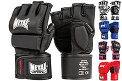 Gants Combat Libre, MMA, Compétition - Entraînement, Metal Boxe MB534