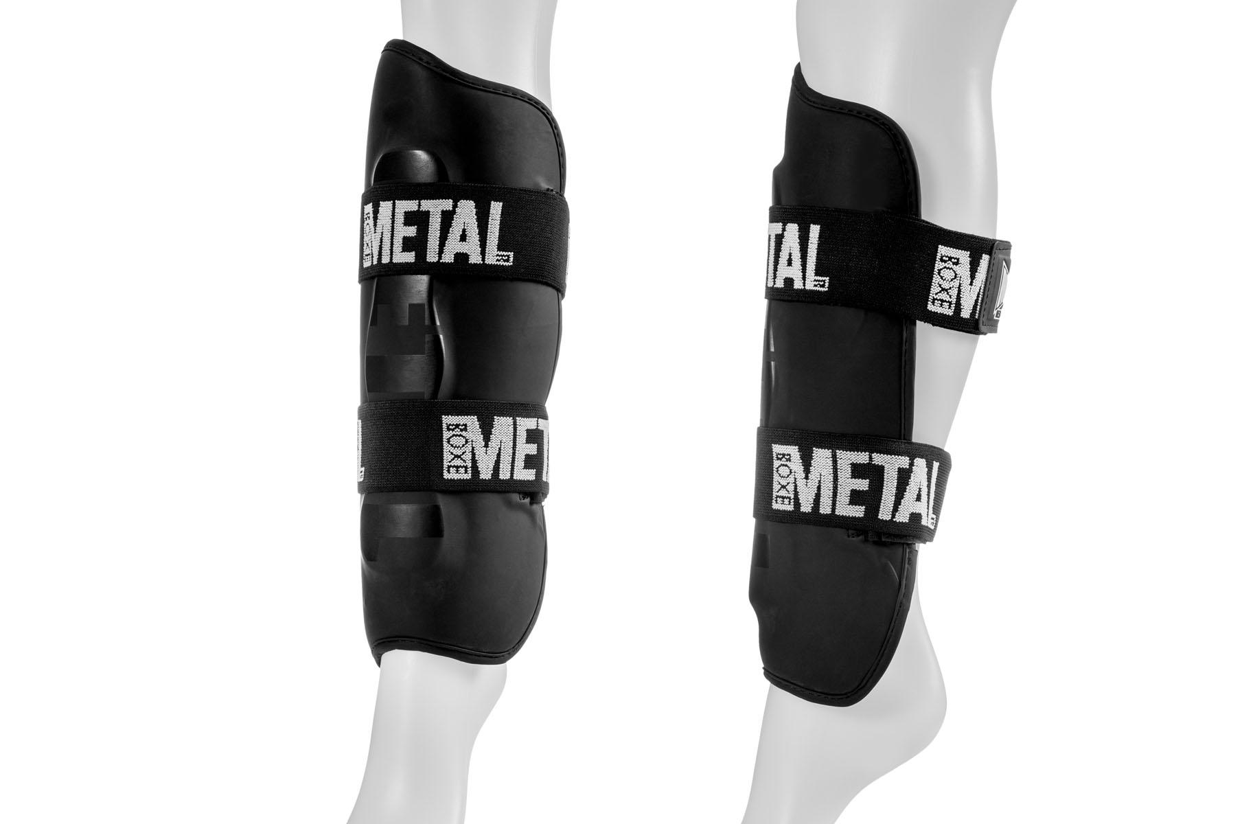 Protège Tibias (Protège Pieds Ajoutable), Metal Boxe MB211