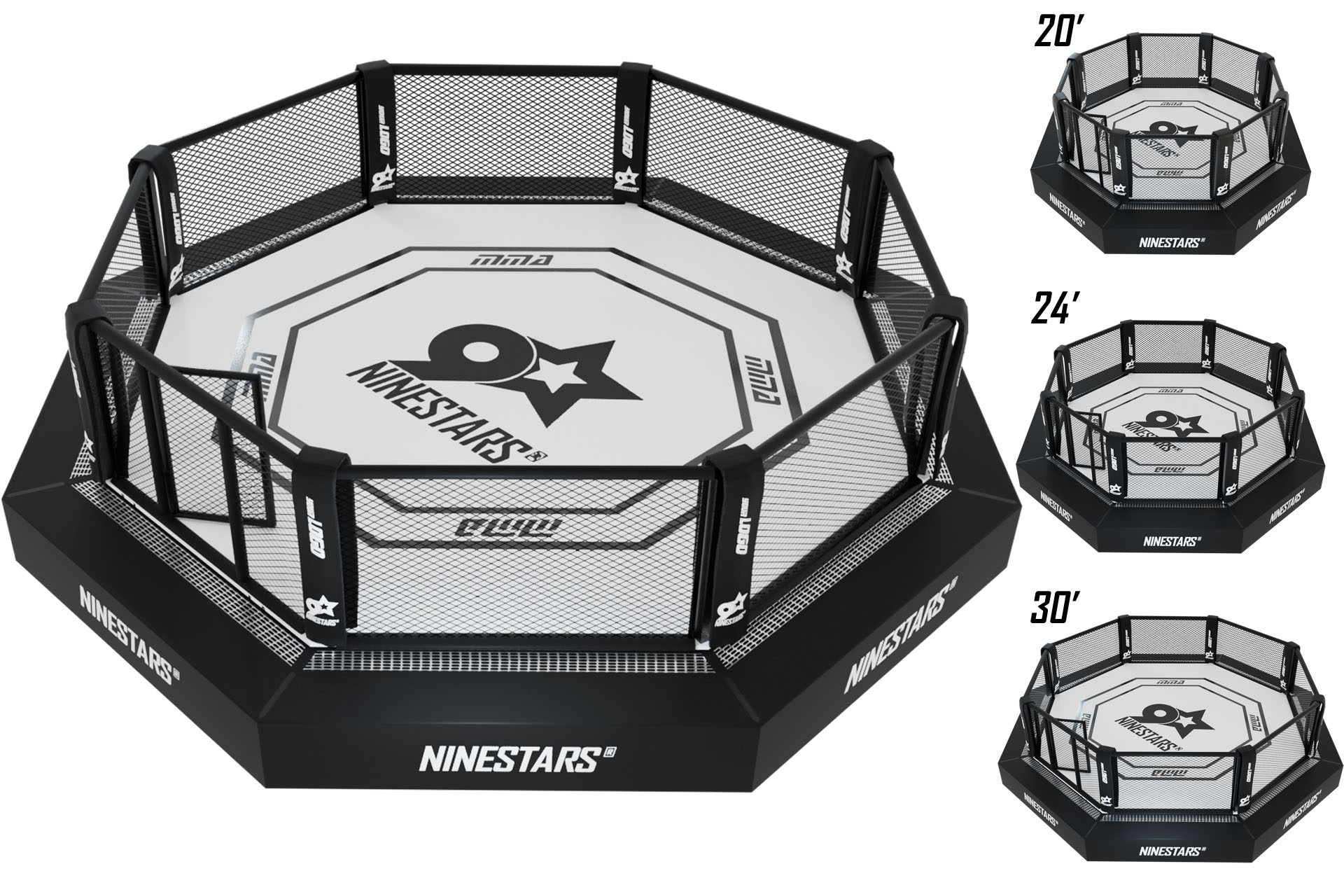 Cage Wwe Ring
