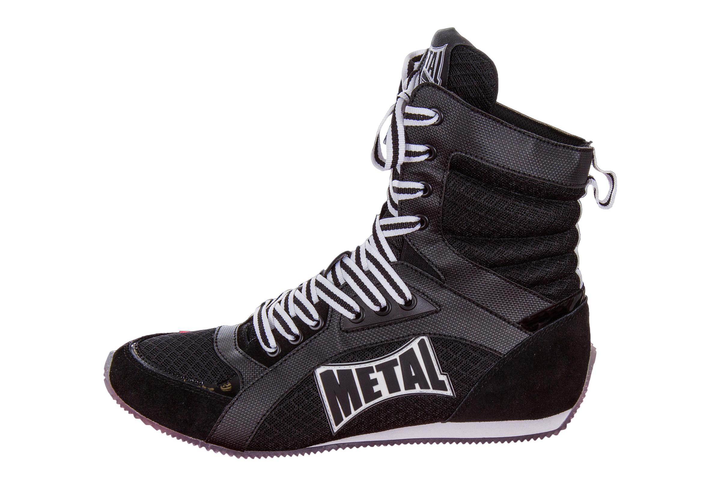 Metal Boxe Haute De Viper chaussures Chaussure Anglaise