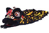 Costume Danse du Lion du Sud «Zhang Fei» (Haut de Gamme)
