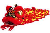 Costume Danse du Lion du Sud «Guan Yu» (Haut de Gamme)