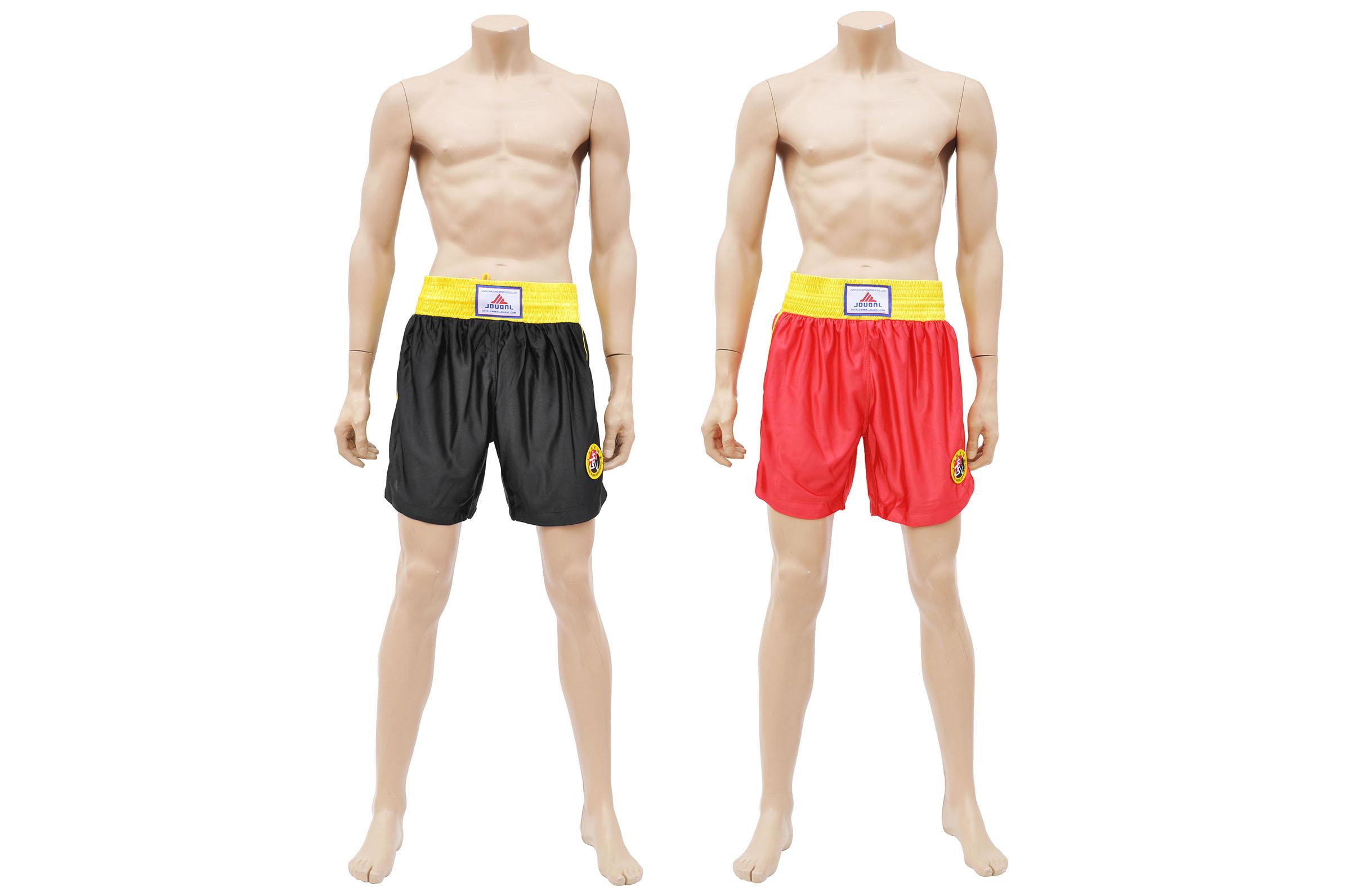 Short Boxe Chinoise Sanda Club
