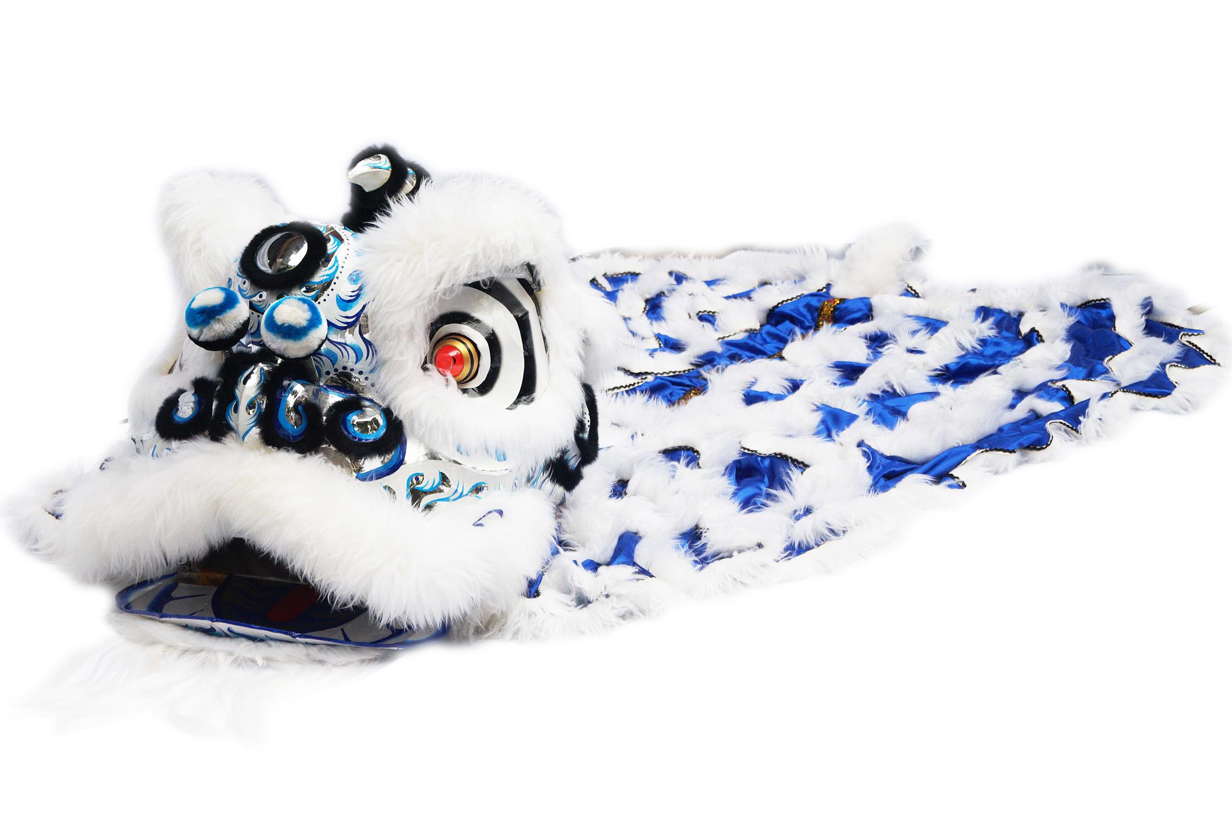 Costume Danse du Lion du Sud «Shen Lan» (Haut de Gamme)