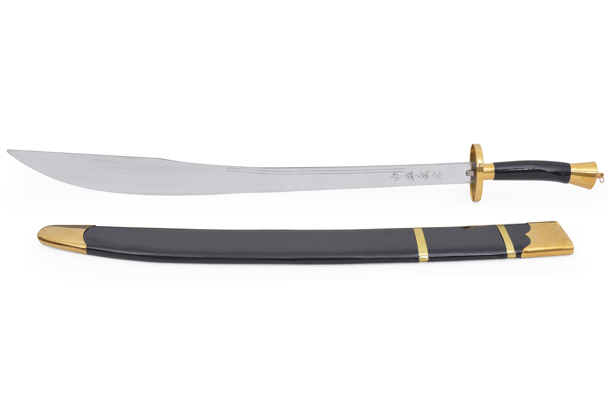 Kungfu Training Broadsword With Scabbard