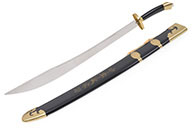 Traditional Broadsword, Semi-flexible, Stainless Steel