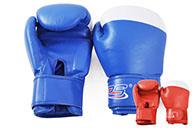 [Déstock] Gants de boxe, Bleu+blanc