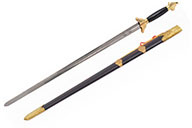 [Destock] Modern Straightsword «Guiding», Competition, Lacquered Wooden Handle