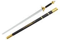 [Déstock] Épée Avec Fourreau, Noir/Doré