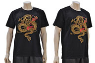 T-shirt Dragon brodé 2