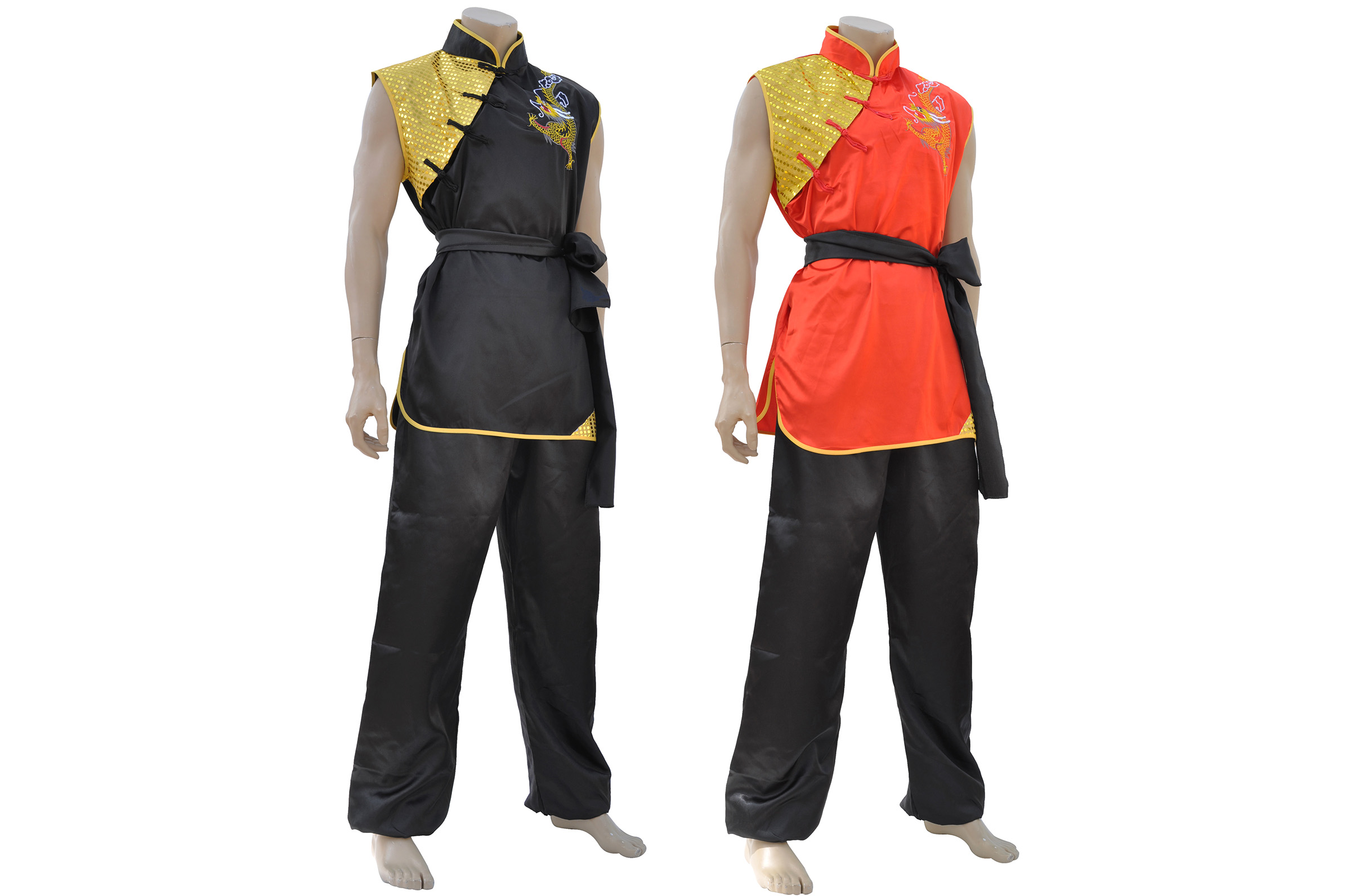 Tenue Nan Quan, Satin, Dragon