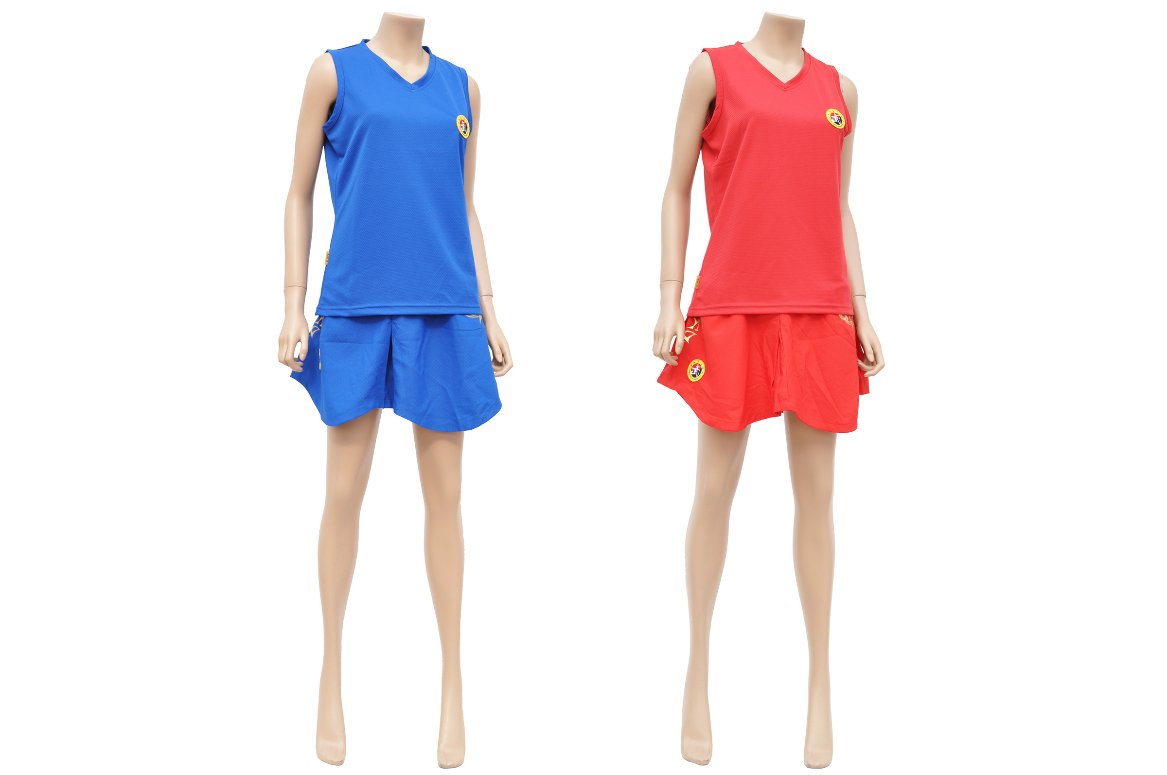 [Destock] Sanda Uniform, Chinese Boxing, Woman, Wesing, Dragon Blue/M