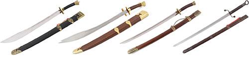 Sabres de kung-fu
