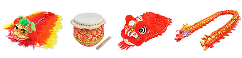 Lion dance, dragon dance & parade
