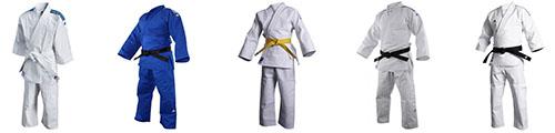 Kimono y pantalones de Judo