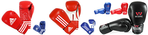 Chinese boxing / sanda gloves