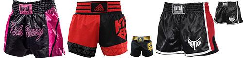 Shorts de K-1