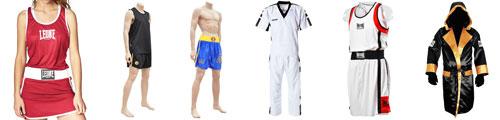 Uniformes boxeo y Sanda