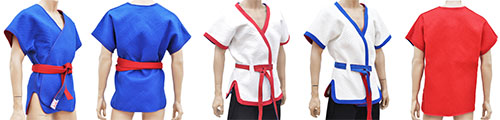 Shuai Jiao & Wrestling Uniforms