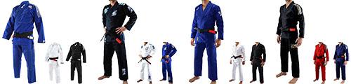 Kimonos de Jiu Jitsu