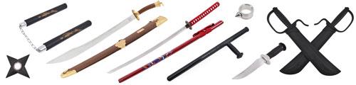 Armes arts martiaux