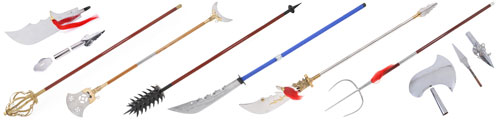 Kungfu long weapons