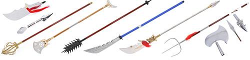 Armas largas de Kung Fu
