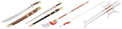 Armas de Kung Fu