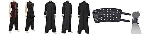 Jeet Kune Do uniforms & Wing Chun uniforms