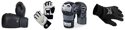 Gloves, mitts, inner mitts & hand wraps