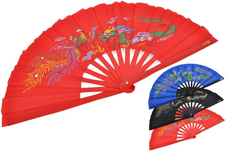 Tai Chi Fan (Tai Ji Shan) Dragon
