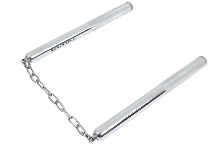 Nunchaku, Kansa - Steel & Chain