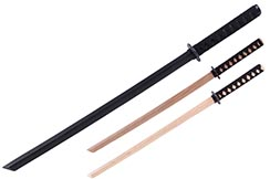 Bokken, Wooden Katana - Braided Handle
