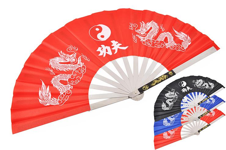 Éventail Tai Chi Wushu, Métal