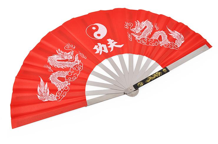 Éventail Tai Chi Wushu - Métal, Shenlong