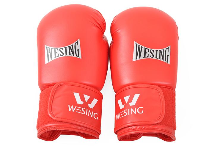 Gants Boxe Chinoise Sanda, Wesing PU