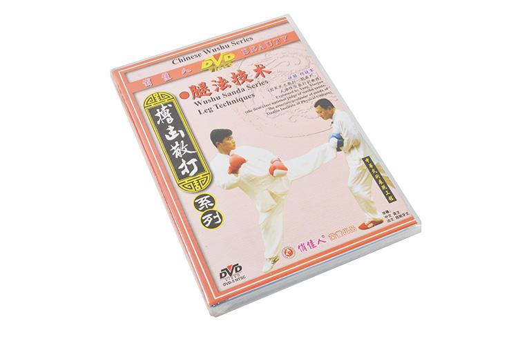 [DVD] Sanda Series - Leg Techniques